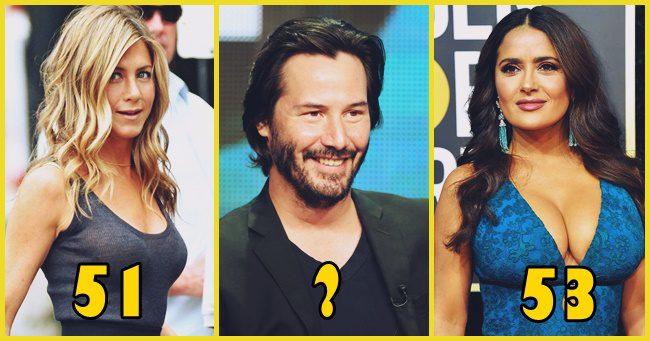 15 híresség a filmiparból, akiknek fogalmad sincs a koráról