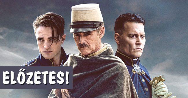 Előzetest kapott Johnny Depp és Robert Pattinson történelmi filmje!