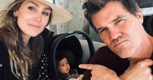 Josh Brolin negyedik babája érkezik