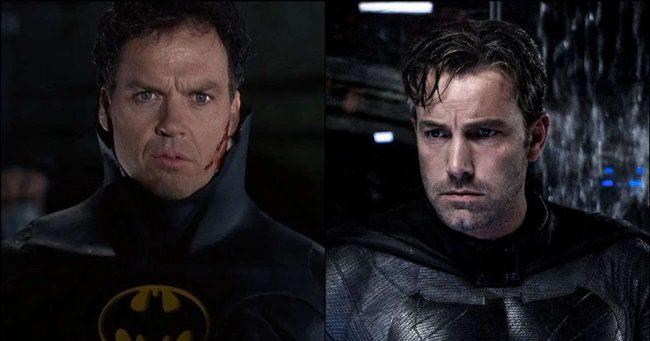 Michael Keaton és Ben Affleck is eljátssza újra Batman szerepét!