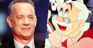 Tom Hanks lesz Geppetto az új Pinokkió filmben!