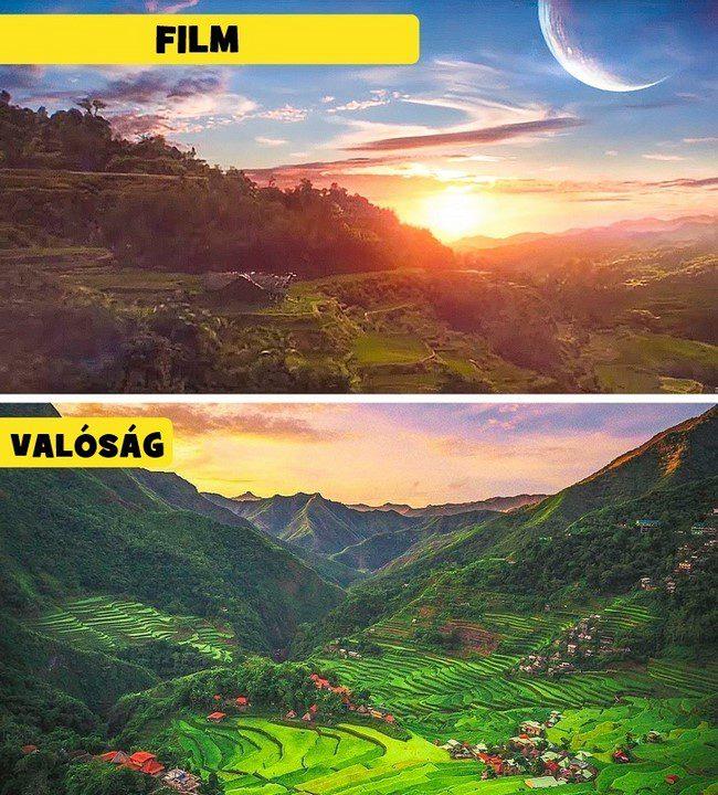 15 lenyűgöző filmbeli helyszín, amit a valóságban is meglátogathatsz