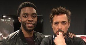 Robert Downey Jr. is megemlékezett Chadwick Bosemanről