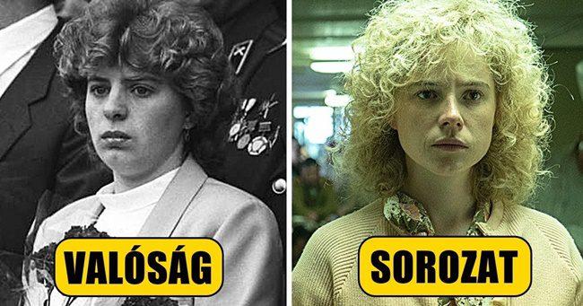 Így néztek ki a Csernobil szereplői a valóságban