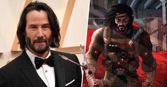 Keanu Reeves képregényt írt, melyben Ő maga lesz a főszereplő