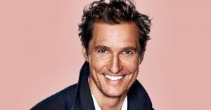 """""""Isten csodálatos kegyelme miatt áldottnak érezem magam"""" - Matthew McConaughey"""