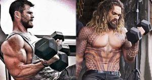 Brutálisan kigyúrták magukat Jason Momoa és Chris Hemsworth legutóbbi filmjük miatt