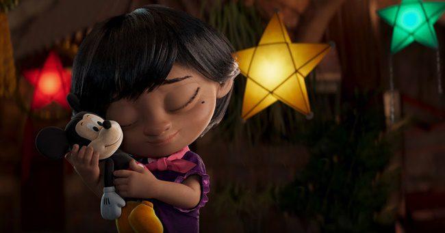 Szívmelengető lett a Disney karácsonyi kisfilmje