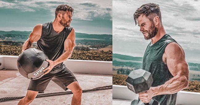 Brutálisan kipattintotta magát Chris Hemsworth a Thor 4-re