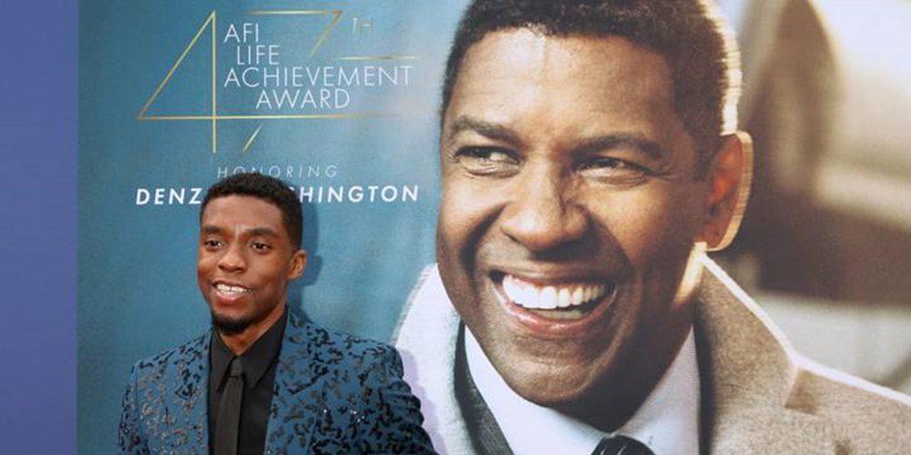 """""""Amikor Isten velünk van, nem számít, ki jön ellenünk!"""" - Chadwick Boseman"""