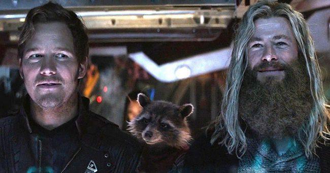 A Thor 4-ben Űrlord, azaz Chris Pratt is szerepet kapott