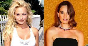 Sorozat készül Pamela Andersonról, akit Lily James fog alakítani