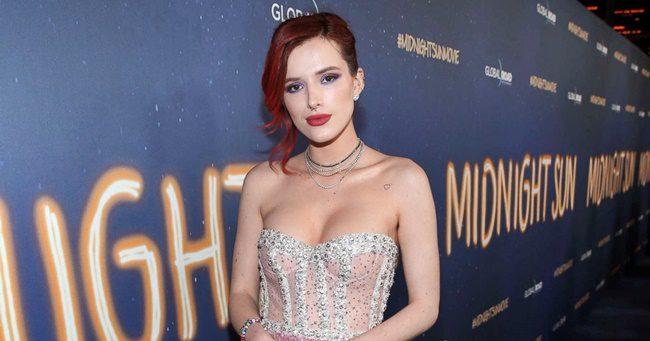 A Disney sztár, Bella Thorne utálja, ha meztelenkedős jelenetben kell részt vennie