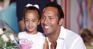 Dwayne Johnson ritkán látott lánya felnőtt és csodálatosan néz ki