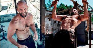 Brutális, ahogy Jason Statham kigyúrta magát legutóbbi filmjére