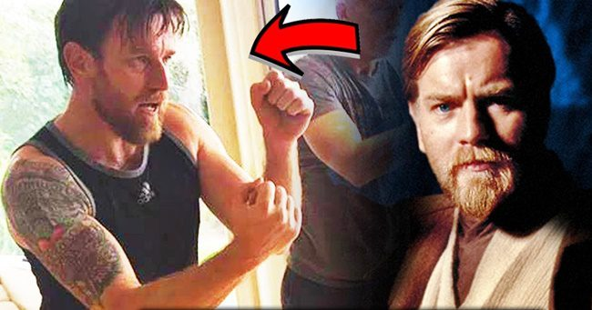 Ewan McGregor brutálisan kigyúrta magát az Obi Wan-sorozat kedvéért