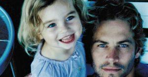 Paul Walker ritkán látott lánya felnőtt és csodálatos nő lett belőle