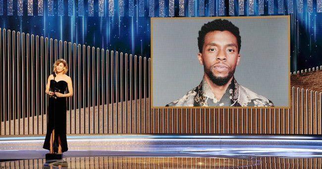 Chadwick Boseman posztumusz díjat kapott - kiosztották a Golden Globe-díjakat