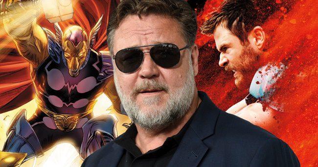 BRÉKING: Russell Crowe is csatlakozik a Marvel Moziverzumához!