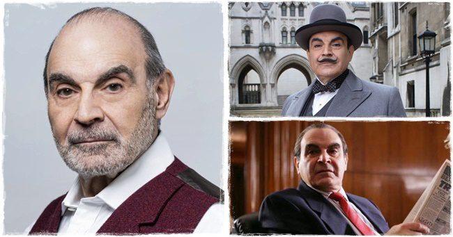 David Suchet – 10 meglepő érdekesség a legendás Poirot-ról