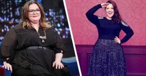 Melissa McCarthy is bizonyította 45 kilós fogyásával, hogy semmi sem lehetetlen