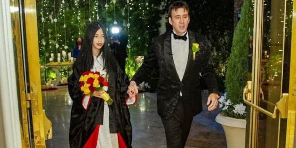 Nem vicc: Nicolas Cage ötödszörre is megnősült!