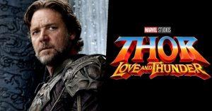 Kiderült, hogy kit fog alakítani Russell Crowe a Thor 4-ben!