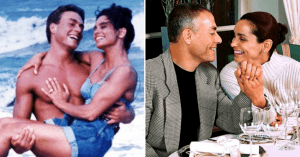 Jean-Claude Van Damme és felesége, Gladys Portugues