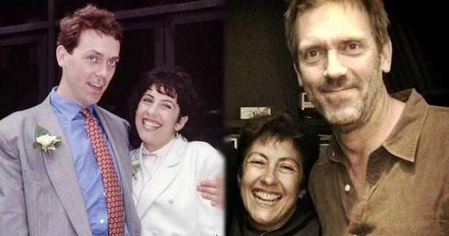 Hugh Laurie és felesége 30 éve hűségesek egymáshoz