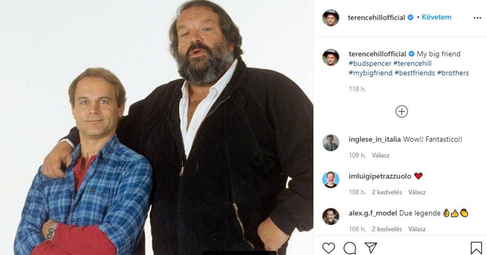 Terence Hill máig nem tudja kiheverni legjobb barátja halálát