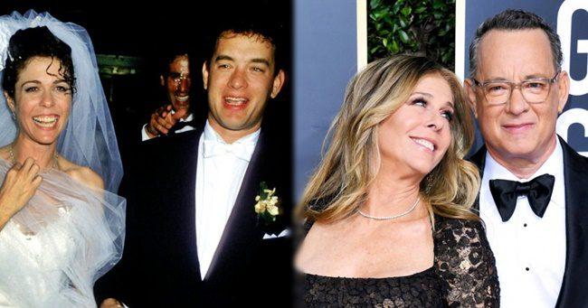 Tom Hanks és felesége több, mint 30 éve elválaszthatatlanok egymástól