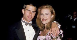 A két színész, Mimi Rogers és Tom Cruise