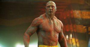 A galaxis őrzői 3. után Draxot alakító Dave Bautista a meztelen felsőtestű jelenetei miatt kilép az MCU-ból