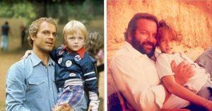 Meghatódtak a rajongók: Terence Hill fia és Bud Spencer lányai közös képet készítettek