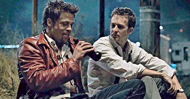 Döbbenet! Edward Norton és Brad Pitt totál részegen vette fel a Harcosok klubja ikonikus jelenetét