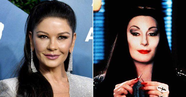 Catherine Zeta-Jones fogja játszani Morticiát az új Addams Family sorozatban