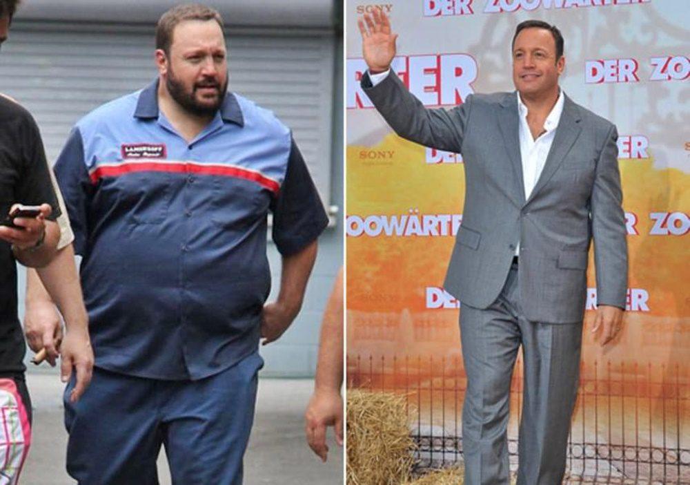 Kevin James 40 kilós fogyása bizonyítja, hogy semmi sem lehetetlen, csak küzdeni kell érte