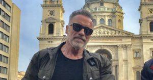 Magyarországon jár éppen Arnold Schwarzenegger