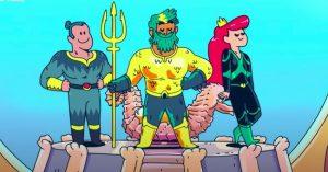 Jön az Aquaman animációs mese, amihez most kijött az első előzetes is!