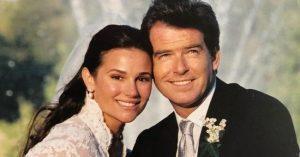 Jézusra bízta életét Pierce Brosnan, csak így tudta átvészelni felesége és lánya halálát