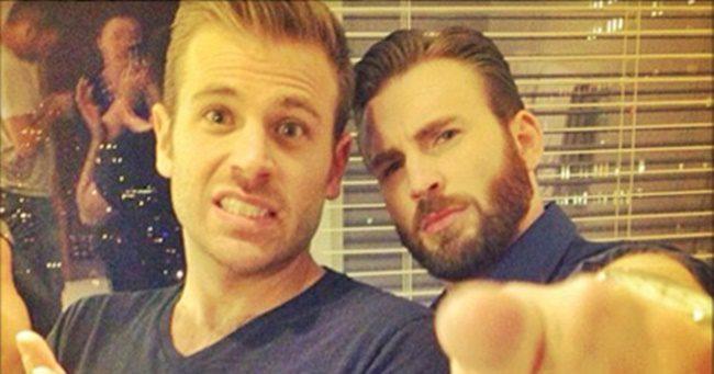 Chris Evans testvére bejelentette, hogy a saját neméhez vonzódik